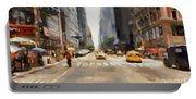 Streets Of New York Portable Battery Charger