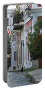 Streets Of Old San Juan Portable Battery Charger