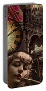 Streets Of Paris II Portable Battery Charger