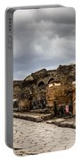 Streets Of Pompeii Portable Battery Charger