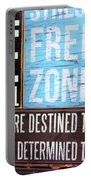 Stress Free Zone  Portable Battery Charger