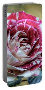 Striped Rose  Portable Battery Charger