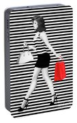 Stripes In Fashion Portable Battery Charger
