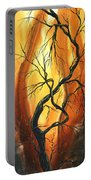 Striving To Be The Best By Madart Portable Battery Charger by Megan Duncanson