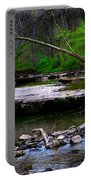 Strolling By The Stream Portable Battery Charger