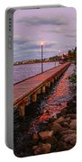 Stuart Riverwalk Sunset Portable Battery Charger