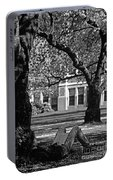 Student Reading Under Tree Portable Battery Charger