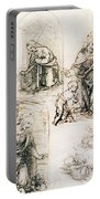 Studies For Nativity Portable Battery Charger