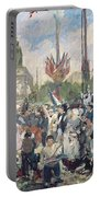 Study For Le 14 Juillet 1880 Portable Battery Charger