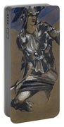 Study Of Perseus In Armour For The Finding Of Medusa Portable Battery Charger