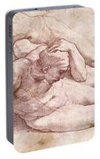 Study Of Three Male Figures Portable Battery Charger