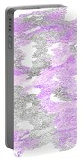 Study Purple And Gray Portable Battery Charger