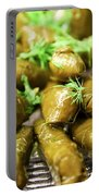 Stuffed Vine Leafs  Portable Battery Charger