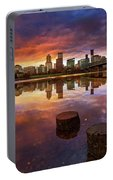 Stumptown Sunset Portable Battery Charger