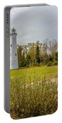 Sturgeon Point Ligthouse Lake Huron, Lower Peninsula, Mi Portable Battery Charger