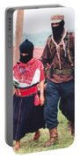 Subcommandante Marcos And Ramona Portable Battery Charger