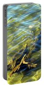 Submerged Tree Abstract Portable Battery Charger