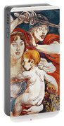 Subscribe To Hasten Peace By Victory Portable Battery Charger by Paul Albert Besnard