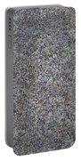 Subtle Lichen On Granite Texture Portable Battery Charger