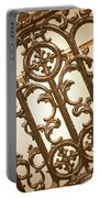 Subtle Southern Charm In Sepia Portable Battery Charger