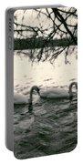 Subtle Swans  Portable Battery Charger