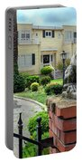 Suburban Antique House With Lion Hayward California 22 Portable Battery Charger