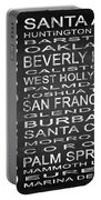 Subway California State Square Portable Battery Charger
