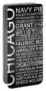 Subway Chicago 1 Portable Battery Charger