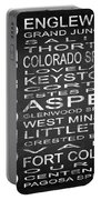 Subway Colorado State 2 Square Portable Battery Charger