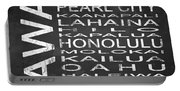 Subway Hawaii State Square Portable Battery Charger