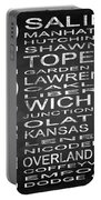 Subway Kansas State Square Portable Battery Charger