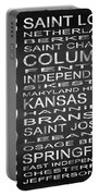 Subway Missouri State Square Portable Battery Charger