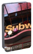 Subway Portable Battery Charger