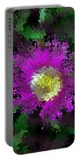 Succulent Bloom Portable Battery Charger