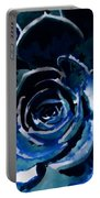 Succulent In Blue Portable Battery Charger