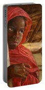 Sudanese Girl Portable Battery Charger