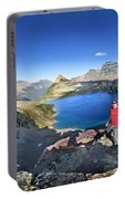 Sue Lake Overlook 2 - Glacier National Park Portable Battery Charger