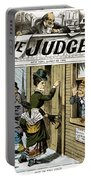 Suffrage Cartoon, 1884 Portable Battery Charger