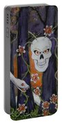 Sugar Skull Forest Portable Battery Charger
