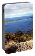 Sugarloaf Mountain In Autumn Portable Battery Charger