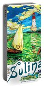 Sulina, Romania, Sailing Boat, Lighthouse Portable Battery Charger