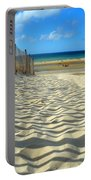 Sultry September Beach Portable Battery Charger