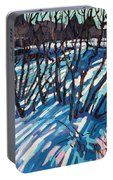 Sumac Snow Shadows Portable Battery Charger
