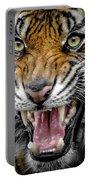 Sumatran Tiger Snarl Portable Battery Charger