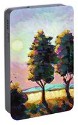 Summer Afternoon In The Fields Portable Battery Charger