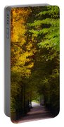 Summer And Fall Collide Portable Battery Charger