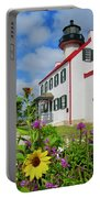 Summer At East Point Light Portable Battery Charger