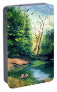Summer At Storm Portable Battery Charger