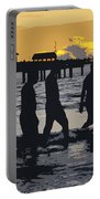 Summer At The Beach Portable Battery Charger
