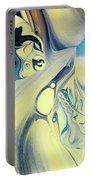 Summer Beach Abstract Portable Battery Charger